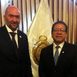 Fiscal de la Nación se reunió con observador de la OEA