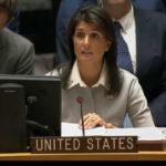 """EEUU acusa""""hostilidad"""" de la ONU a Israel tras decisión de Trump (VIDEO)"""