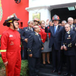 Presidente Kuczynski destaca labor de bomberos voluntarios