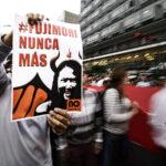 Miles marchan contra el fujimorismo y piden cerrar el Congreso (Fotos)