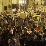 Miles de peruanos marcharon en rechazo al indulto de Alberto Fujimori (Fotos y Videos)