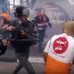 Brutal ataque de soldados israelíes contra médicos que querían atender herido (Video)