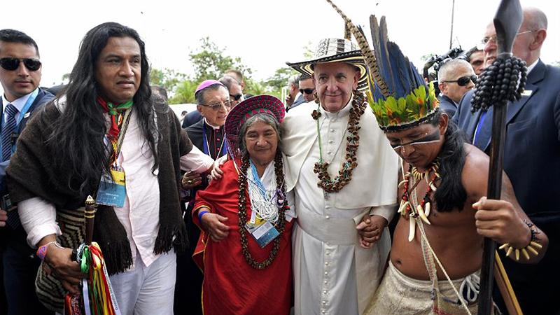 Resultado de imagem para Papa Francisco no Peru