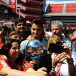 Independiente llegó a casa bañado de gloria tras lograr la Copa Sudamericana