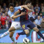El Barcelona empata de local ante el Celta 2 a 2 pero mantiene liderato