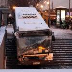 Rusia: Bus irrumpe en entrada de estación de metro y mata a 5 transeúntes (VIDEO)
