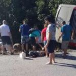 México: Volcadura de bus turístico deja al menos 11 muertos y 15 heridos