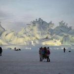 China inaugurará en Navidad el parque de hielo y nieve más grande del mundo (VIDEO)