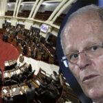 Congreso admitió debatir moción de vacancia de Kuczynski por incapacidad moral permanente