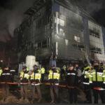 Corea del Sur: Lista de fallecidos en incendio de gimnasio asciende a 29 (VIDEO)