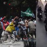 Argentina: Ordenan detener a dos manifestantes y policía por desmanes (VIDEO)