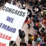 Soñadores se movilizan al Capitolio exigiendo aprobar el Dream Act (VIDEO)