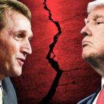 Senador republicano apoya a rival del candidato Moore que respalda Trump