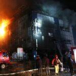 Dieciocho muertos al incendiarse un gimnasio en Corea del Sur