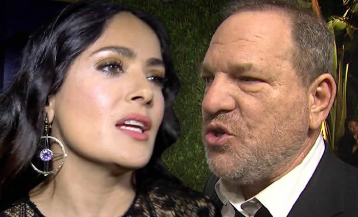 Harvey Weinstein niega haber acosado a Salma Hayek