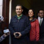 Ollanta Humala y Nadine Heredia se reúnen en la Diroes
