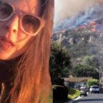 Incendio amenaza residencia de Kate del Castillo y de otros famosos (VIDEO)