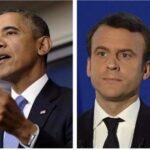 Macron almuerza en París con Obama, inspiración de su campaña exitosa