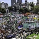 Argentina: Marchas de protesta contra la reforma laboral bloquean avenidas (VIDEO)