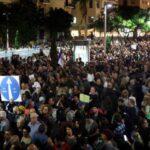 Miles de israelíes de izquierda y derecha protestan contra la corrupción
