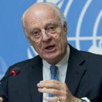 De Mistura: Negociaciones sobre Siria se reanudarán en segunda mitad de enero