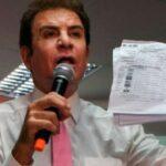Nasralla entrega a la OEA pruebas de fraude electoral en Honduras