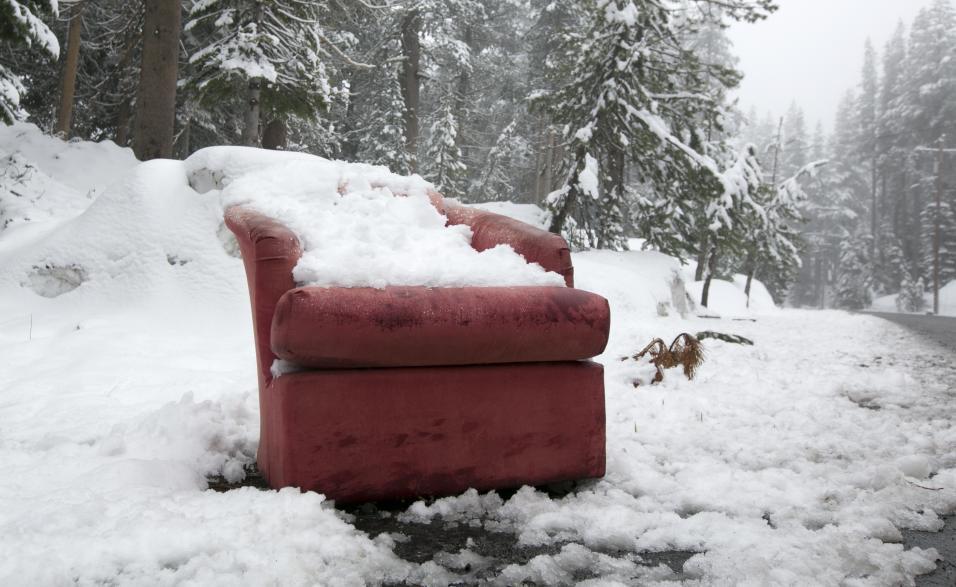 ¡Hay tanto frío que nevó en Florida!