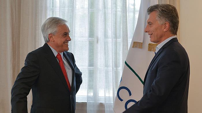 Mauricio Macri expresa su apoyo público a candidatura de Piñera