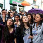Protestan en Colombia por violencia hacia mujeres tras asesinato de joven