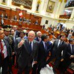 Congreso: Kuczynski llama a preservar el sistema democrático
