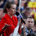 Periodista candidata opositora lamenta que Putin no quiera debate electoral