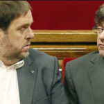 Independentistas buscan investir a Puigdemont y Junqueras no se descarta