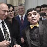 Mundial Rusia 2018: Putin abrió la fiesta y Maradona puso la nota de color