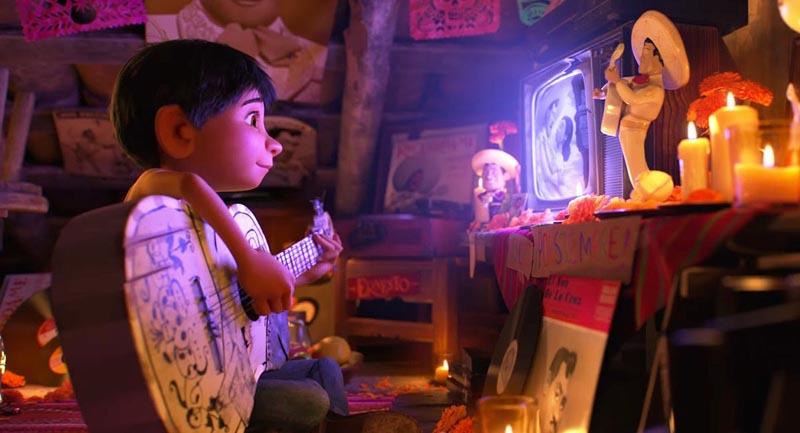Filme 'Coco' encabeza la taquilla a dos semanas de su estreno