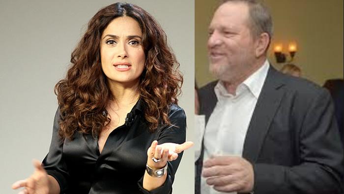 Salma Hayek reveló haber sido acosada por Harvey Weinstein