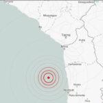 Chile: Sismo de 5.4 grados se registró en el oeste de Pisagua