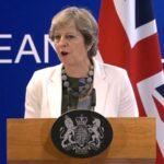 """R.Unido: May espera firmar acuerdos con terceros países en transición del """"brexit"""""""