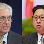 Tillerson: EEUU dispuesto a hablar con Corea del Norte sin condiciones previas