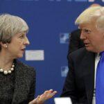 May traslada a Trump su desacuerdo con decisión sobre Jerusalén