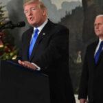Contra viento y marea Trump reconoce a Jerusalén como capital de Israel (VIDEO)