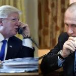 Donald Trump y Vladimir Putin hablaron por teléfono sobre crisis en Norcorea