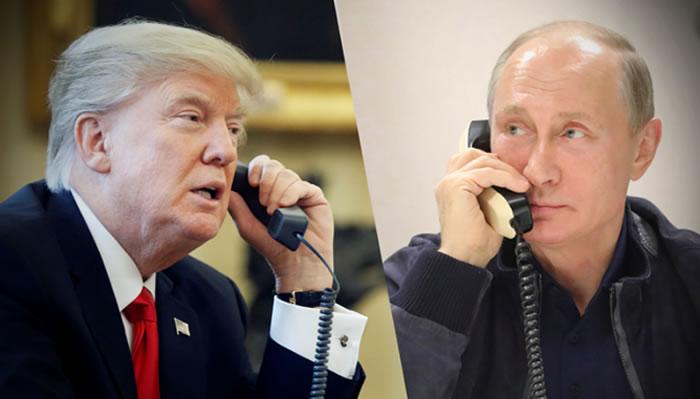 Putin agradece a Trump la ayuda de CIA para frustrar un atentado