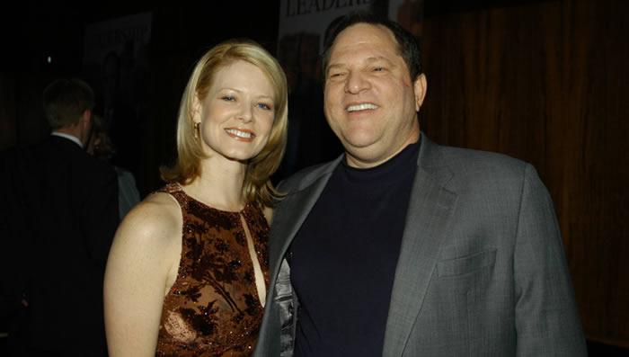 Esposa de Harvey Weinstein recibirá fortuna