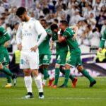 Real Madrid eliminado de la Copa del Rey al caer 2-1 ante Leganés