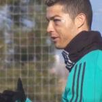 YouTube: Cristiano Ronaldo aparece un día después del golpe en la cara