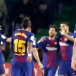 Liga Española: Barcelona don dobletes de Messi y Suárez goleó 5-0 al Betis