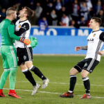 Copa del Rey: Valencia se mete en semifinales al derrotar 2-1 al Deportivo Alavés