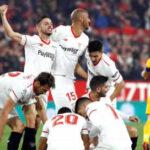 Copa del Rey: Sevilla en semifinales al derrotar 3-1 a Atlético de Madrid
