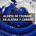Alerta de tsunami en EEUU y Canadá por terremoto de 7,9 grados en Alaska (VIDEO)