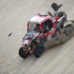Dakar 2018: Peruano Juan Carlos Uribe lidera su categoría en las dunas de Pisco